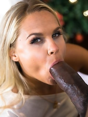 Beauty Barra Brass Gets a Big Black Cock